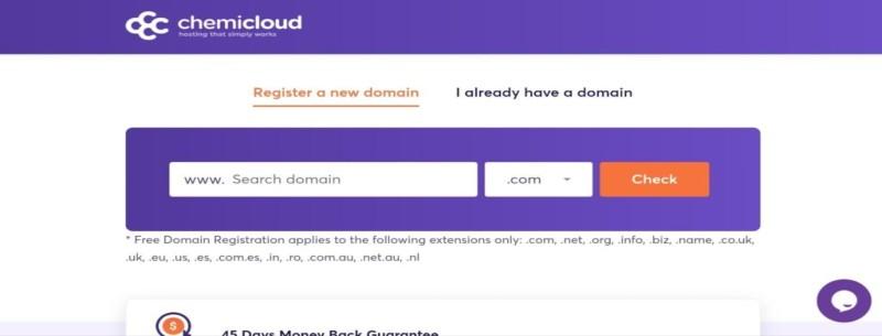 chemicloud-select-domain