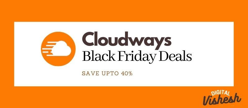 cloudways black friday, cloudways blackfirday discount offers and deals