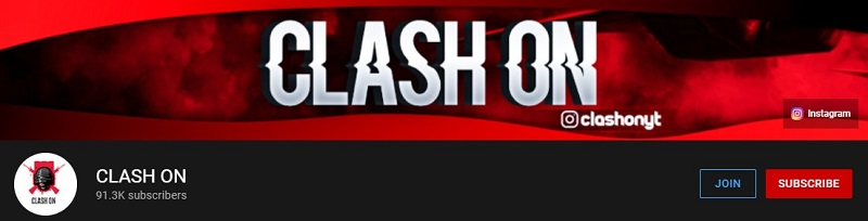 CLASH ON Gaming Channel