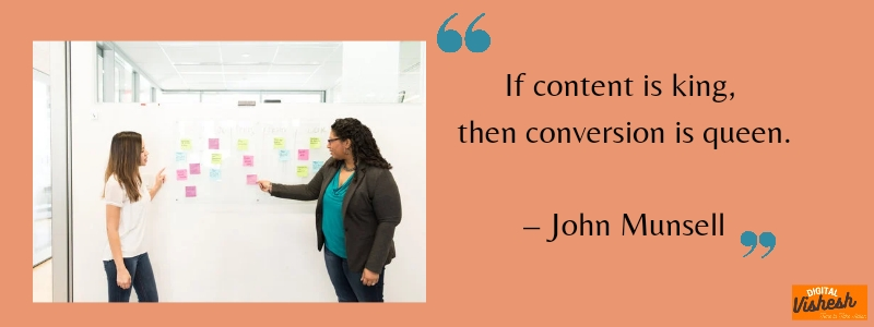 dm quote by John munsell