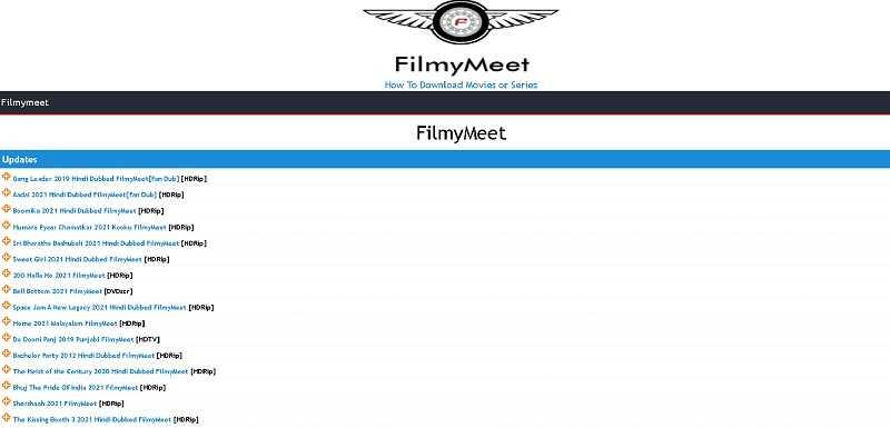 best web series download website Filmy Meet
