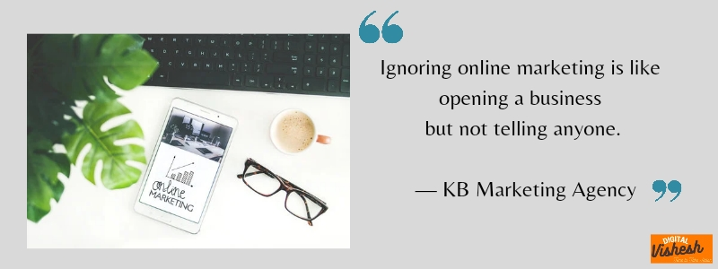 Latest Quotes on DM by KB marketing