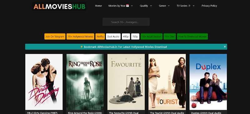 all movies hub