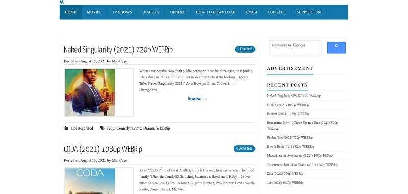 mkvcage web series movie download