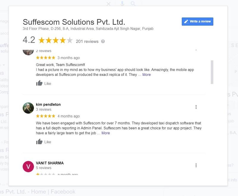 Suffescom Solutions Reviews