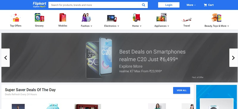 flipkart online shopping site in india for clothes
