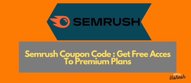 Semrush Coupon codes
