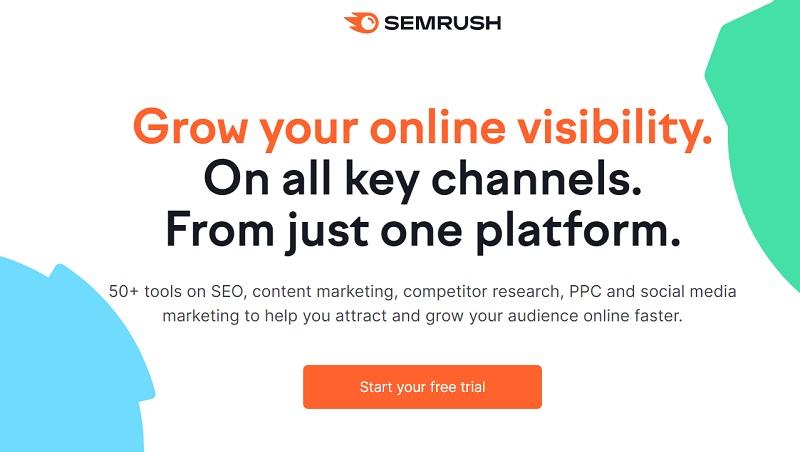 Semrush coupon code get free access