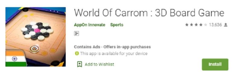 world of carrom