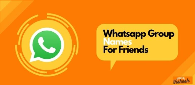 friends group name, friends whatsapp group names