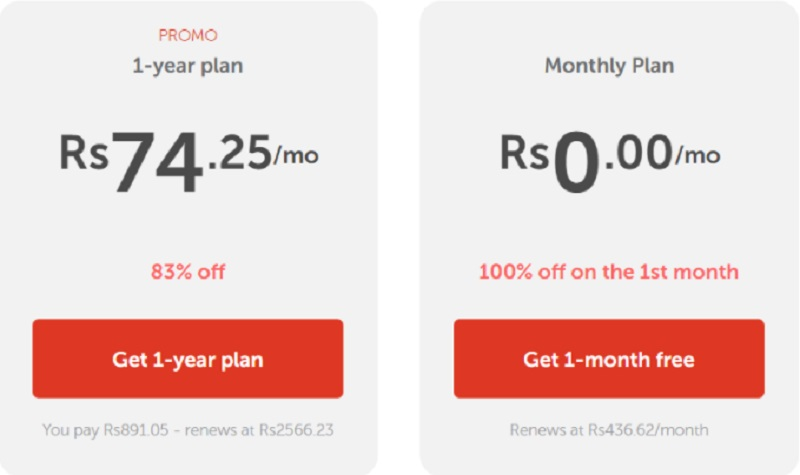 pricing plan for fast vpn